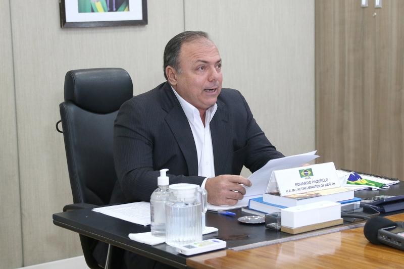 Ofício foi redigido após reunião com o ministro Pazuello que despertou crise com os secretários