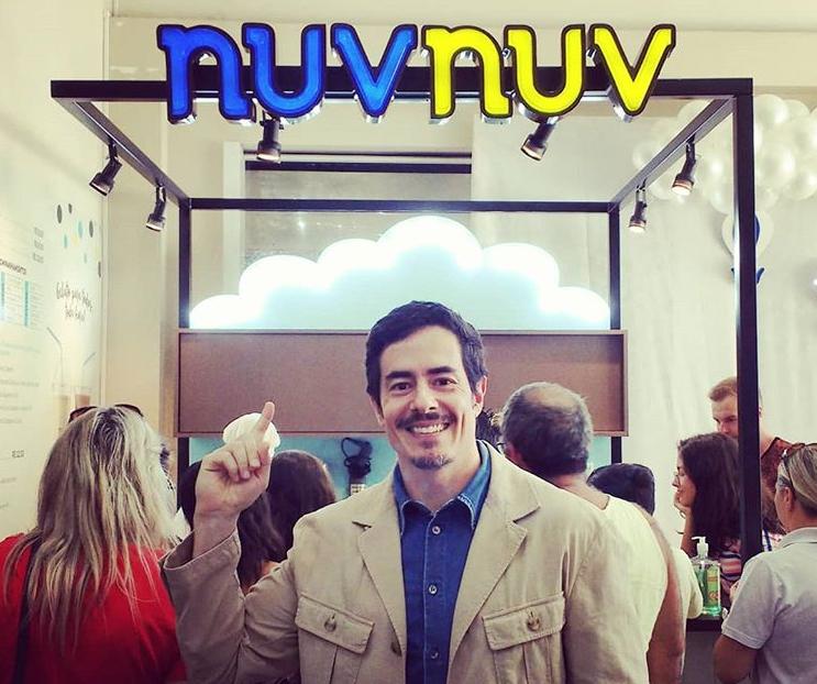 Felipe Folgosi é proprietário da rede de franquia NuvNuv