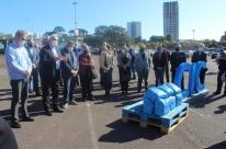 Setor empresarial de Caxias doa 130 toneladas de alimentos