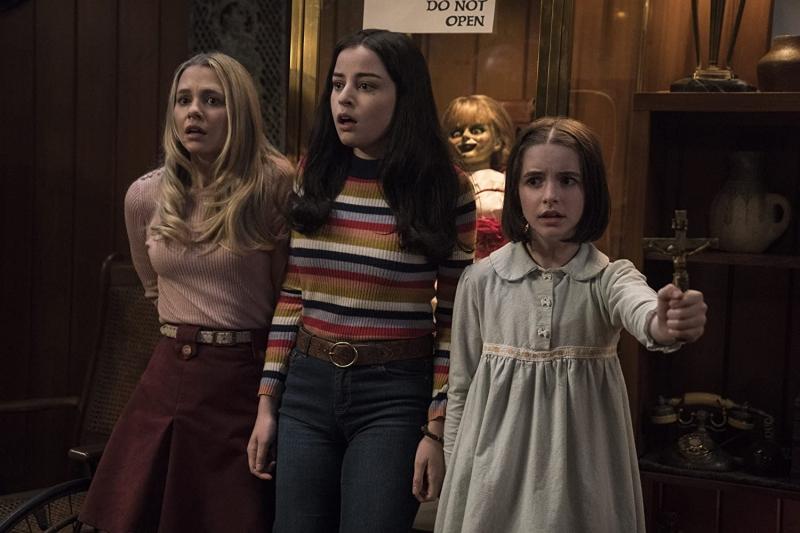 Annabelle desperta outros espíritos malignos em seu novo filme