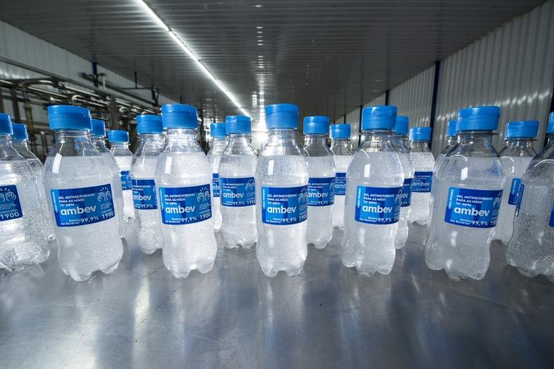 Produto, disponibilizado em garrafas PET, foi destinado a instituições públicas municipais e estaduais