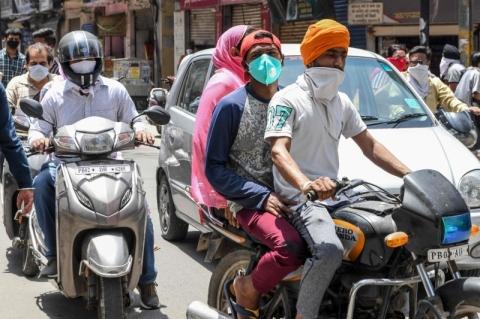 Índia registra maior número de casos de Covid-19 em apenas 1 dia