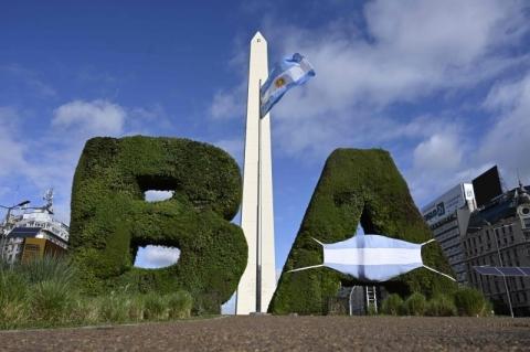 Argentina é o 5º país no mundo a superar 1 milhão de casos de Covid-19
