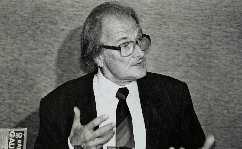 José Lutzenberger foi um dos pioneiros do movimento ambientalista no Brasil