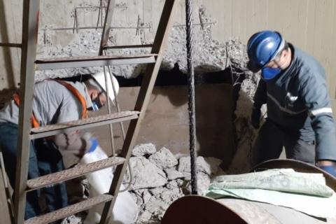 Começa recuperação de pilar da ponte do Guaíba atingido por embarcação