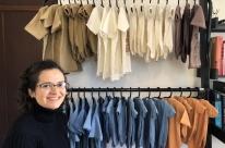 Jornalista cria marca de moda infantil com tecidos orgânicos