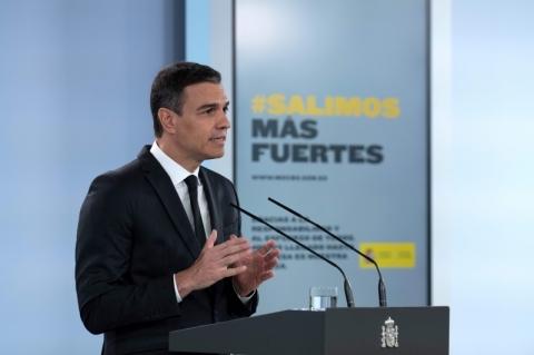 Premiê da Espanha propõe prorrogar quarentena no país até 21 de junho