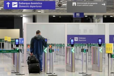 Aeroporto de Porto Alegre teve alta de 61% no fluxo de passageiros em junho frente a maio