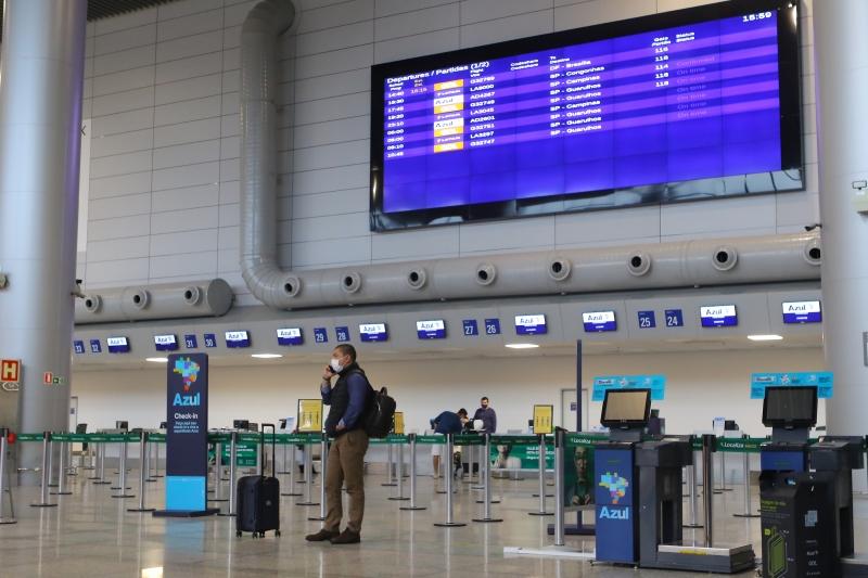 Chegada de voos internacionais no Salgado Filho continua proibida