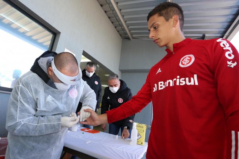 Durante este período, jogadores passaram por duas testagens para o coronavírus