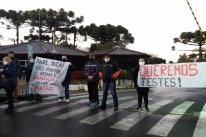 Sindicato dos Metalúrgicos promove ato em frente às Empresas Randon