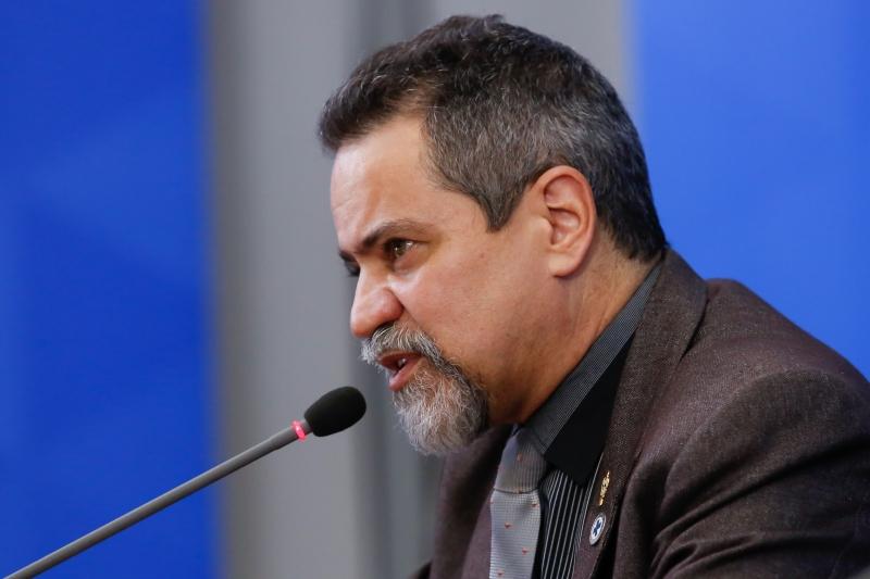 Élcio Franco, disse que não há obrigatoriedade de se vacinar toda a população