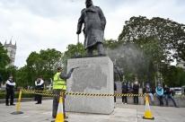 Londres blinda estátua de Winston Churchill para evitar ataques