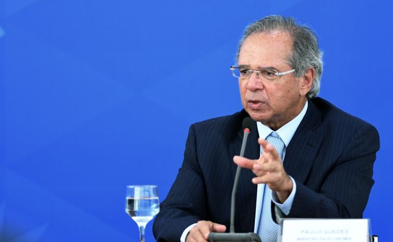 Guedes saiu em defesa da política ambiental brasileira