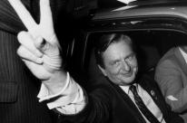 Suécia encerra mistério da morte de Olof Palme