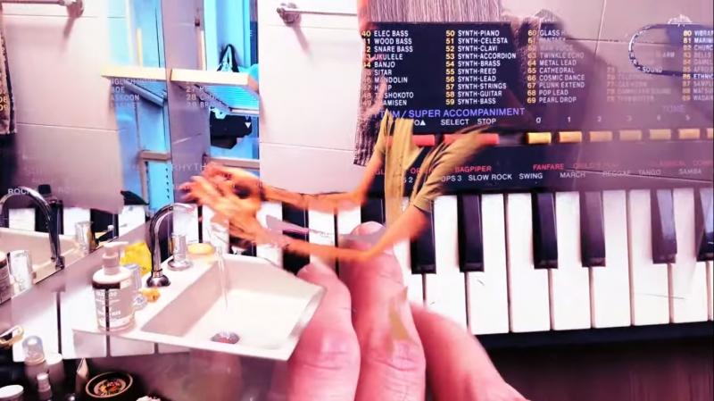 PAN clipe do single Seu Chocolate, da banda Fantomaticos Foto YouTube Fantomaticos Reprodução