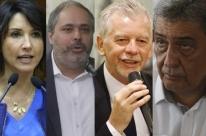 Quatro pré-candidatos discutem ações conjuntas para Porto Alegre