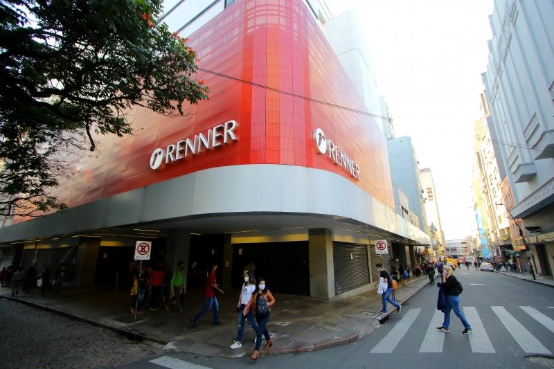 Há chance de que Porto Alegre possa entrar na vermelha, com mais fechamento de lojas