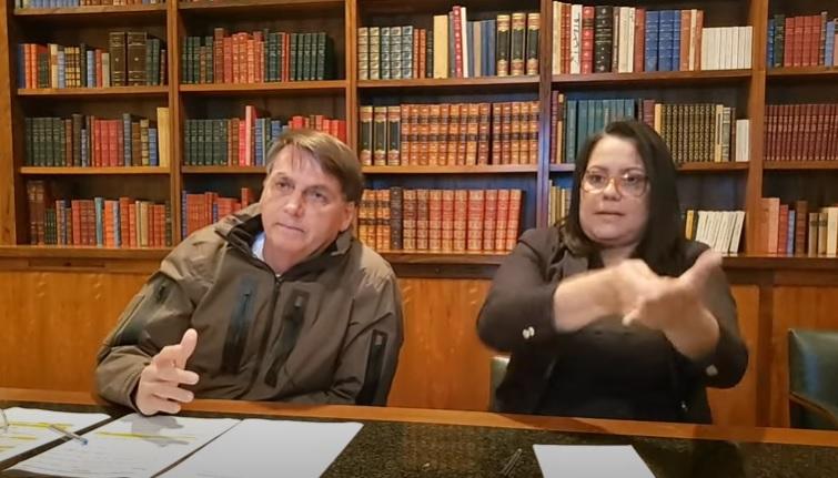 Em live na internet, presidente afirmou que o ex-assessor de Flávio Bolsonaro não estava foragido