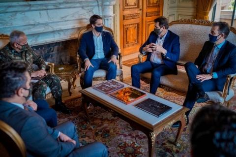 Chefes dos Poderes debatem mobilização conjunta para conscientização sobre Covid