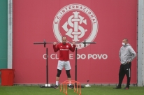 Bandeira vermelha na região não veta treinos da dupla Grenal em Porto Alegre