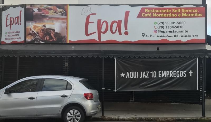PG3 - Comércio fechado em Aracaju SE