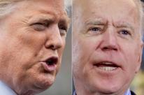 Biden aparece 14 pontos à frente de Trump em pesquisa de intenção de voto