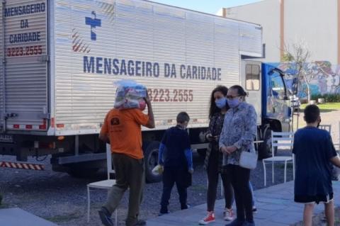 Mensageiro da Caridade faz live-show para arrecadar doações