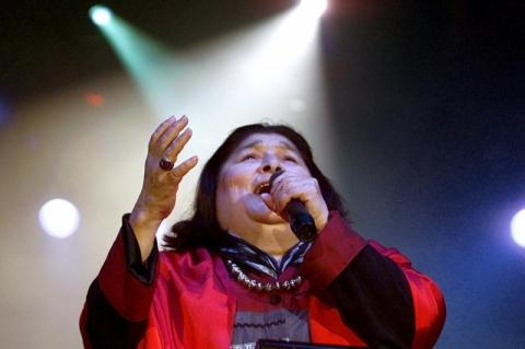 Cantora argentina Mercedes Sosa completaria 85 anos nesta quinta-feira