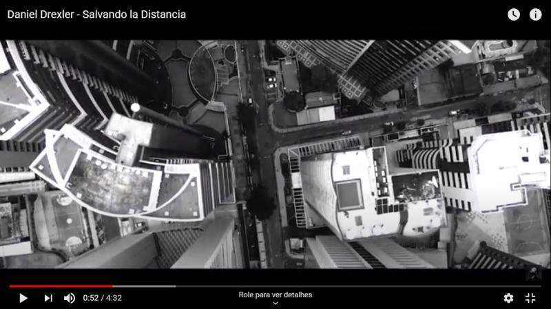 Daniel Drexler lança videoclipe gravado no Estado de canção sobre a distância