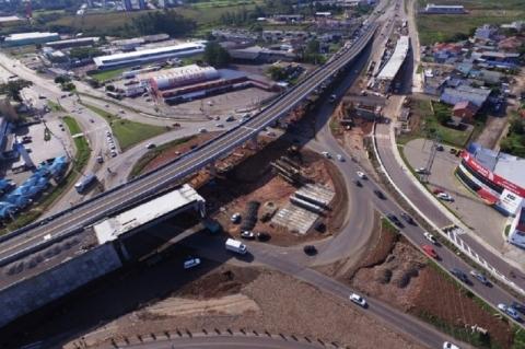 DNIT libera tráfego em viaduto na BR-158, em Santa Maria