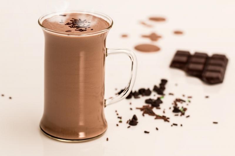 GASTRONOMIA SEU BAR 1 - Chocolate quente com cachaça
