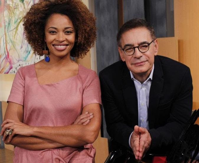 Adriana Couto e Cunha Jr. comandam entrevista remota no programa Metrópolis