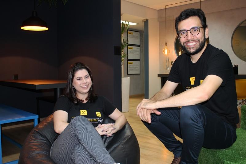 Patrícia Soares e Diego Andrade fundaram a Prestho em Minas Gerais