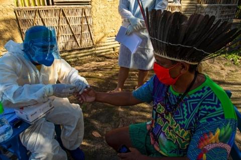 Covid-19 circula entre 161 povos indígenas no Brasil