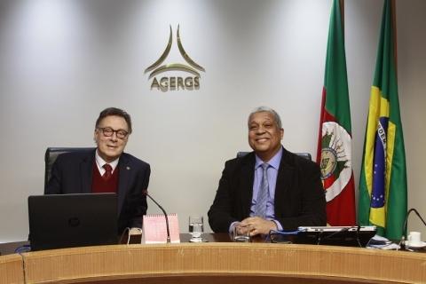 Senna é empossado como conselheiro-presidente da Agergs