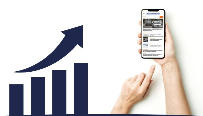 Edição on-line do Jornal do Comércio teve número de acessos recorde na primeira metade de 2020