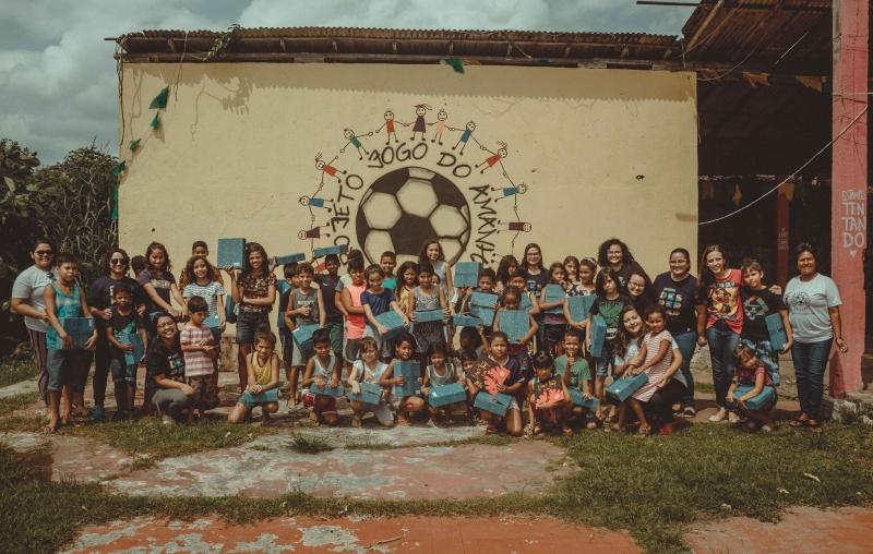 Projeto Jogo do Amanhã, em Ananindeua (PA), é uma das entidades que deve receber auxílio