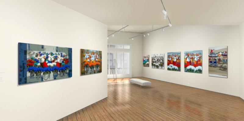 Ambiente digital interativo e pioneiro começa apresentando exposição de Marcelo Hübner