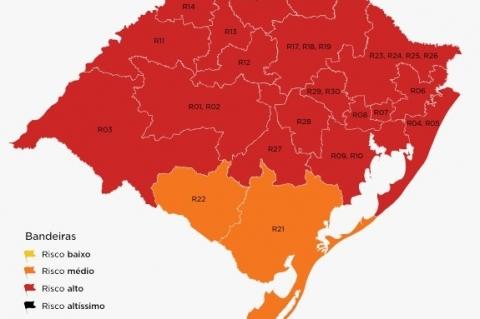 Governo recebe 59 contestações do mapa prévio das bandeiras do distanciamento controlado