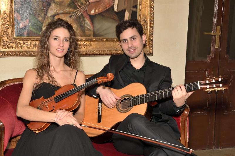Lucia Gafà e Esdras Maddalon interpretam obras de Margola e Granados desde Milão