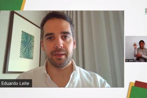 Eduardo Leite planeja gestão compartilhada do distanciamento controlado com prefeituras