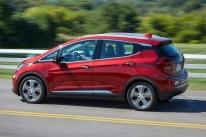 Chevrolet Bolt EV foi o elétrico mais emplacado do Brasil no primeiro semestre