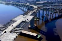 Em razão das chuvas, DNIT adia início da instalação de vigas da nova ponte do Guaíba