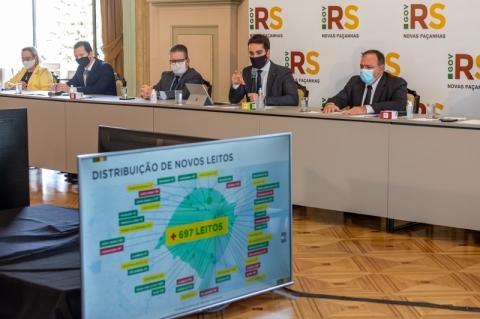 Pazuello anuncia envio de 100 respiradores ao RS para ajudar no tratamento da Covid-19