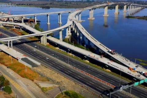 Consórcio que ergueu nova ponte do Guaíba demite 300 trabalhadores