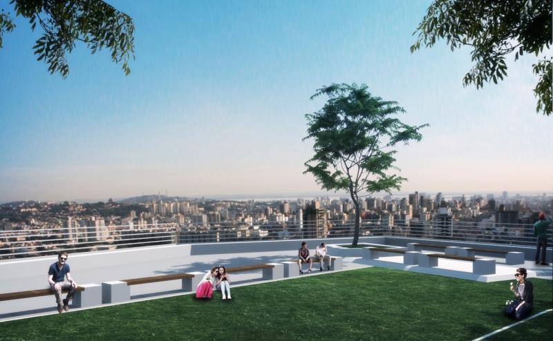Complexo Belvedere deve ser erguido entre as avenidas Tarso Dutra e Cristiano Fischer, na Capital