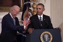 Biden e Obama criticam resposta de Trump à pandemia de coronavírus em vídeo de campanha