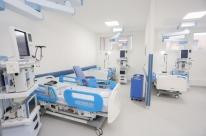Hospital da Brigada Militar em Porto Alegre ganha 10 leitos de UTI para Covid-19