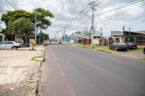 Prefeitura de Canoas afirma que irá pavimentar 100% das ruas residenciais